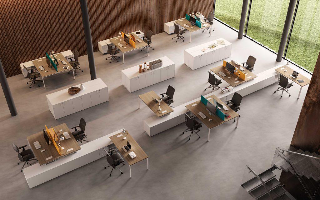 רהיטי OGL עבור משרד היברידי