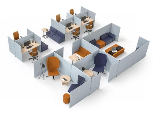 המשרד ההיברידי - קונסטרוקציה גמישה